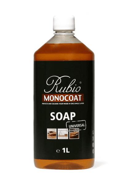 Rubio Monocoat Soap Bodenseife, Flasche mit 1,0 Liter, für die wiederkehrende Reinigung geölter Holzböden