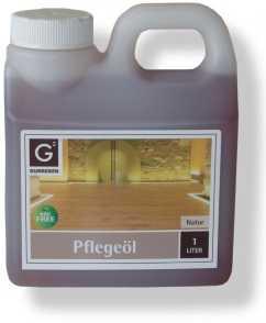 Gunreben Pflegeöl natur, Kanister mit 1,0 Liter, zur Erstbehandlung geölter Holzböden