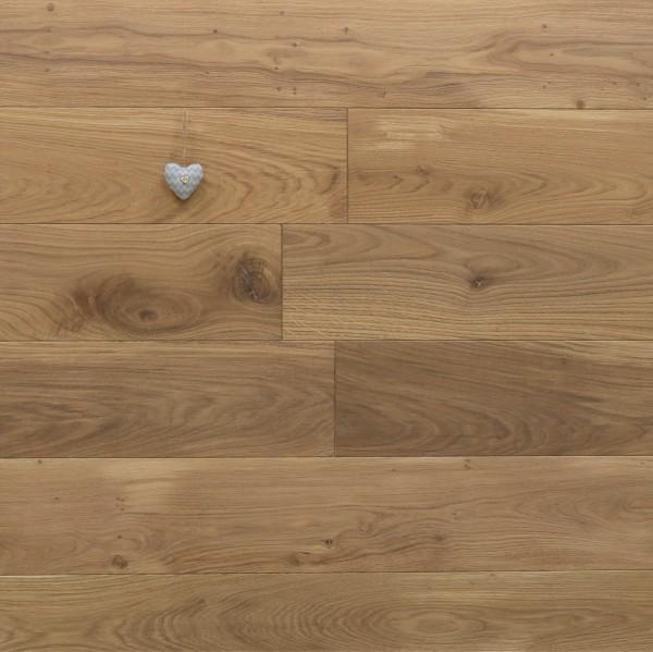 Eiche Schlossdielen aus massivem Holz, 21 x 180 / 200 mm von 2600 bis 5000 mm, Abmessungen nach Ihren Vorgaben, mit Rubio Monocoat R331a leicht weiß geölt, Kanten gefast, Nut / Feder Verbindung, Sonderanfertigung nach Kundenwunsch