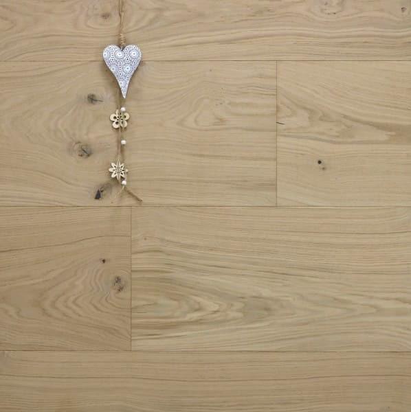 Eiche Schlossdiele Toulouse, Mehrschicht Aufbau, 20 x 320 bis 5000 mm, roh bzw. noch unbehandelte Oberfläche, Kanten gefast, Nut / Feder Verbindung