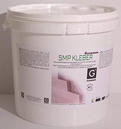 Gunreben 1K SM Polymer, elastischer und verbrauchsfertiger Parkettkleber, auch für Fußbodenheizung geeignet