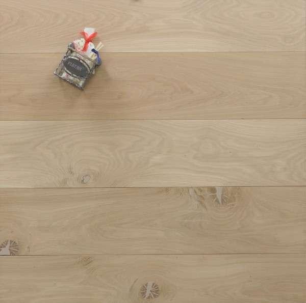Eiche Schlossdielen aus massivem Holz, 20 x 180 / 200 mm von 1800 bis 5100 mm, roh bzw. unbehandelte Oberfläche, Kanten gefast, Nut / Feder Verbindung, Sonderanfertigung nach Kundenwunsch